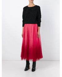 P.A.R.O.S.H. - Pink 'pegrade' Skirt - Lyst