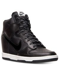 Nike | Black Women's Dunk Sky Hi Essential Sneakers From Finish Line | Lyst