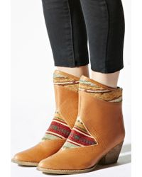 Forever 21 - Brown Sbicca Leather Boots - Lyst