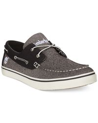 Timberland | Gray Earthkeepers Newmarket Boat Shoes for Men | Lyst
