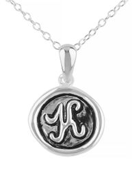 Lord & Taylor | Metallic Oxidized K Pendant Necklace | Lyst