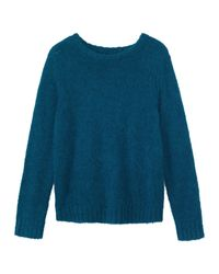 Toast | Blue Suri Alpaca Sweater | Lyst
