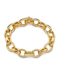 Monica Rich Kosann | Metallic Marilyn Extra Large Ultra Pave Diamond 18k Bracelet | Lyst