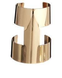 ALDO | Metallic Villabella Clean Gold Cuff Bracelet | Lyst