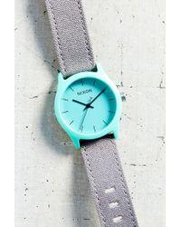 Nixon - Gray Mod Acetate Watch - Lyst
