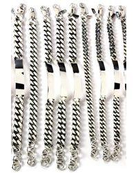 Loren Stewart - Metallic Sterling Silver Xl Id Bracelet - Lyst