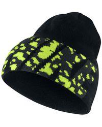 Nike - Black Camo Logo Beanie for Men - Lyst