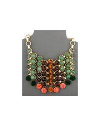 DANNIJO - Metallic Baez Bib Necklace - Lyst