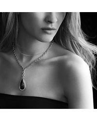 David Yurman - Metallic Anjou Necklace With Diamonds - Lyst