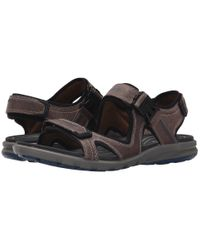 Ecco - Brown Cruise Strap Sandal for Men - Lyst