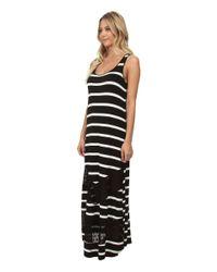 Kensie | Multicolor Light Weight Viscose Spandex Maxi Dress Ks6k7592 | Lyst