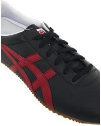 Onitsuka Tiger | Black Tai Chi Leather Plimsolls for Men | Lyst