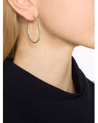 Fantasia Jewelry - Metallic Inside Outside Hoop Earrings - Lyst