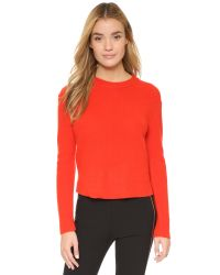 Rag & Bone - Red Alexis Cashmere Pullover - Lyst