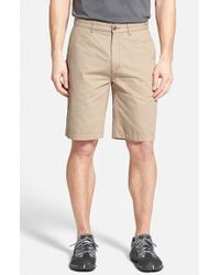 Patagonia - Natural 'all-wear' Organic Cotton Canvas Shorts for Men - Lyst