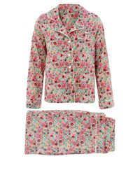 Liberty - Pink Mauverina Cotton Short Pyjama Set - Lyst