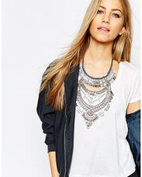 ALDO | Metallic Greenacres Necklace | Lyst