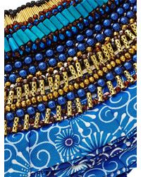 Anita Quansah London | Blue Lyra Necklace | Lyst
