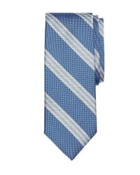 Brooks Brothers - Blue Large Bb#10 Stripe Tie for Men - Lyst