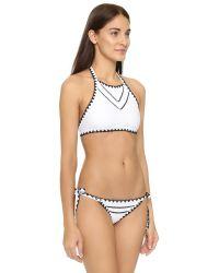 Same Swim - Multicolor The It Girl Halter Bikini Top - Lyst