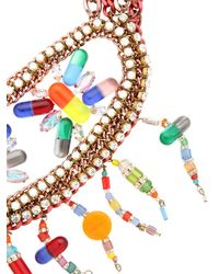 Sveva Collection - Multicolor Io Sto Bene Necklace - Lyst