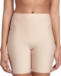 Spanx | Natural Thinstincts Targeted Short Thigh Shaper | Lyst