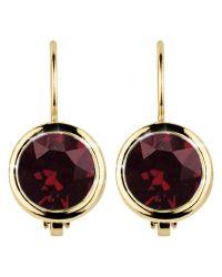 Dyrberg/Kern Metallic Dyrberg/kern Louise Swarovski Crystal Drop Earrings