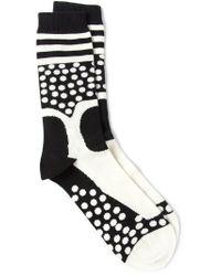 Henrik Vibskov - Black 'et' Socks for Men - Lyst