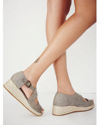 Free People - Gray Jeffery Campbell Womens Hastings Sport Wedge - Lyst