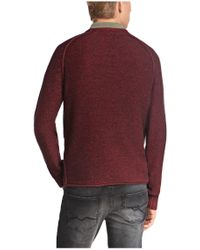 BOSS Orange | Brown Cotton Sweater 'argus' for Men | Lyst