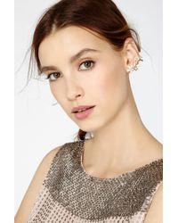 Coast - Metallic Kezia Leaf Ear Cuff - Lyst