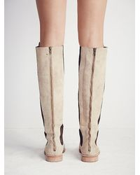 Free People - Natural Fp Collection Womens Callow Tall Boot - Lyst