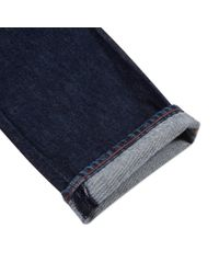 Paul Smith - Blue Men's Straight-fit One-wash Indigo Jeans for Men - Lyst