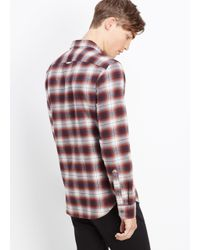 Vince - Melrose Engineered Plaid Button Up for Men - Lyst