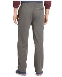 Izod | Gray Performance Fleece Pants for Men | Lyst