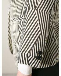 Forte Forte | Black Graphic Print Blazer | Lyst