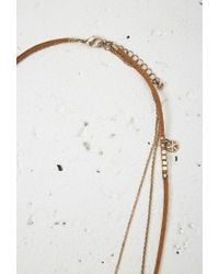 Forever 21 | Brown Layered Cord Charm Necklace You've Been Added To The Waitlist | Lyst