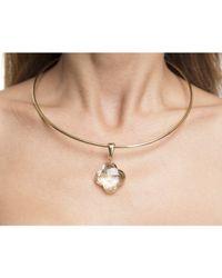 Louis Vuitton | Metallic Pre-owned Gold A La Folie Choker Necklace | Lyst