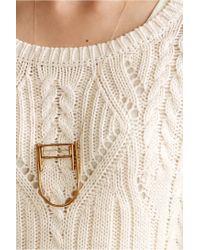 Winifred Grace - Metallic Meja Pendant Necklace - Lyst