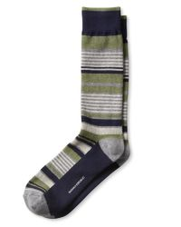 Banana Republic | Green Awning Stripe Sock for Men | Lyst
