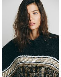 Free People | White Labryinth Poncho | Lyst