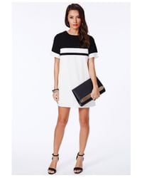 Missguided - Alve Faux Leather Clutch Bag in Black - Lyst