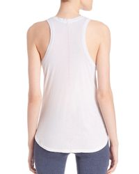 Sundry - Natural Take A Trip Tank Top - Lyst