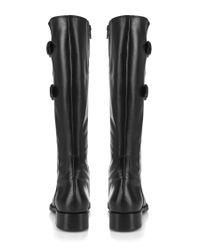 Cara London - Black Riding Boot - Lyst