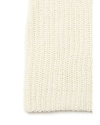 Forever 21 | Natural Chunky Knit Fold-over Beanie | Lyst
