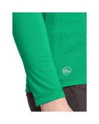 Ralph Lauren - Green Active Long-sleeved Tee - Lyst