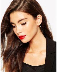 ASOS | Metallic Clean Arrow Swing Earrings & Stud Pack | Lyst