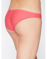 Free People - Pink Emmi Solid Bottoms Emmi Solid Top Wrap Top - Lyst