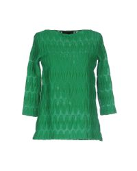 Jo No Fui - Green Jumper - Lyst