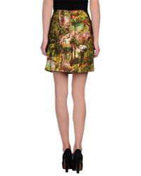 Carven | Green Knee Length Skirt | Lyst